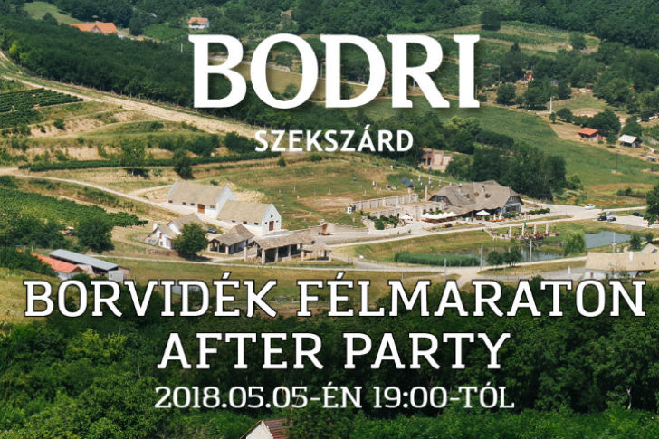Borvidék Félmaraton After Party
