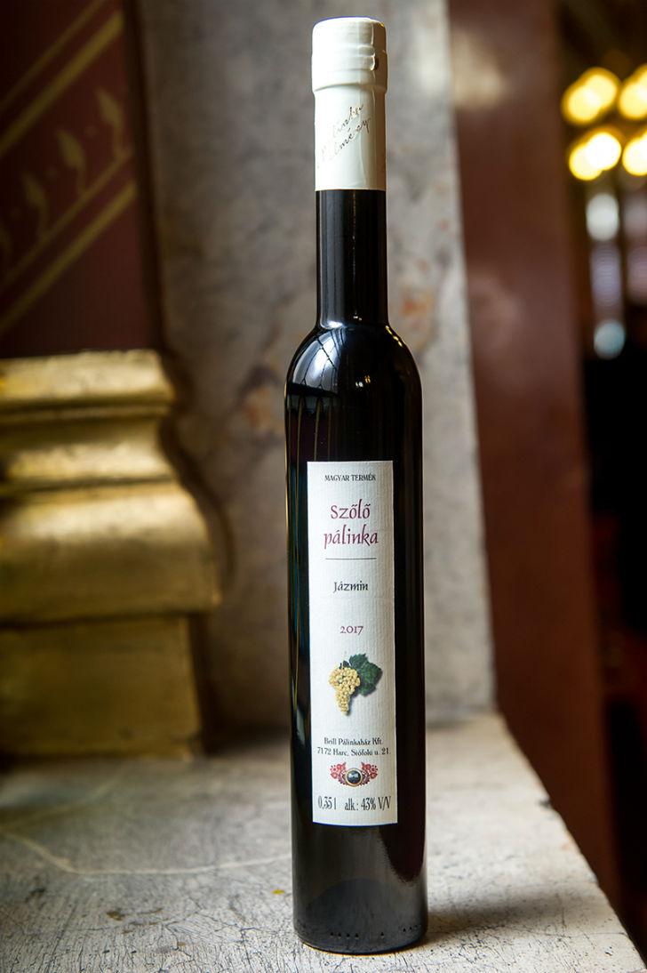 Jázmin szőlőből készült Magyarország legjobb pálinkája