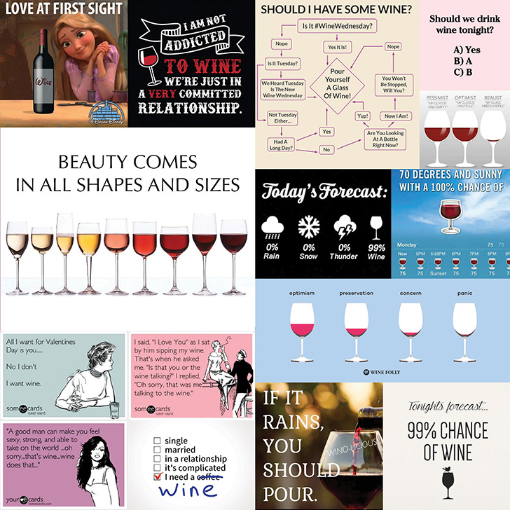 Borkommunikáció 27: Viccesebbnél viccesebb boros mémek