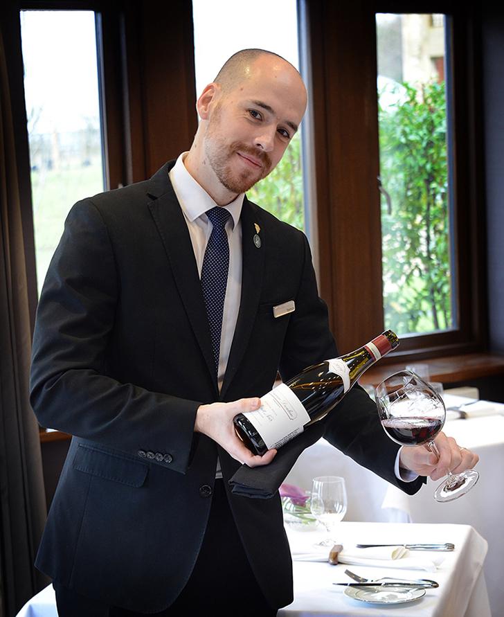 """Czinki Tamás: """"Inspirálnám a hazai étteremtulajdonosokat, hogy alkalmazzanak sommelier-t"""""""