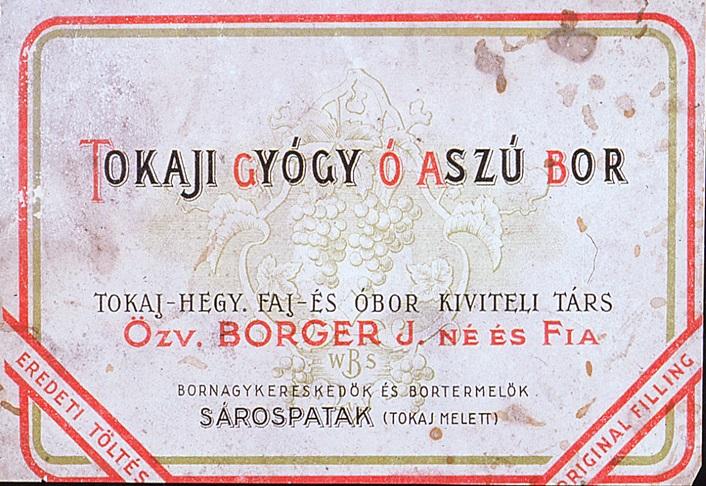 Mesélnek és nevettetnek: Tokaj régi boroscímkéi