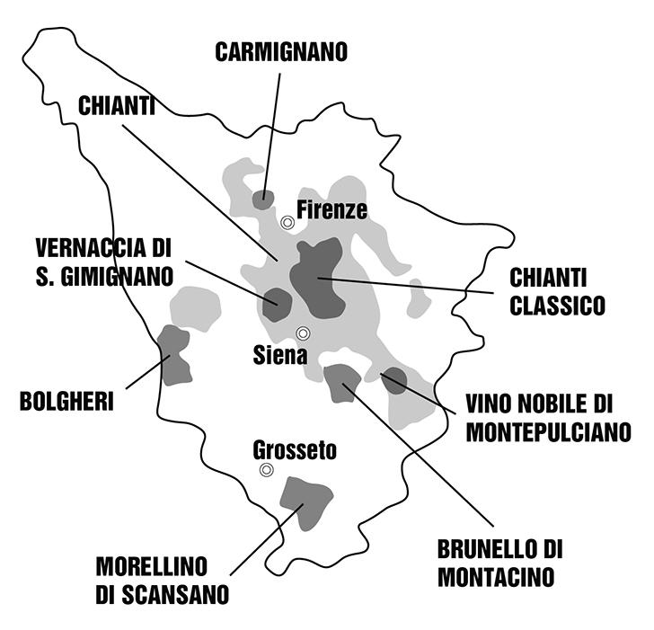Közép-Olaszország: a Chianti hazája
