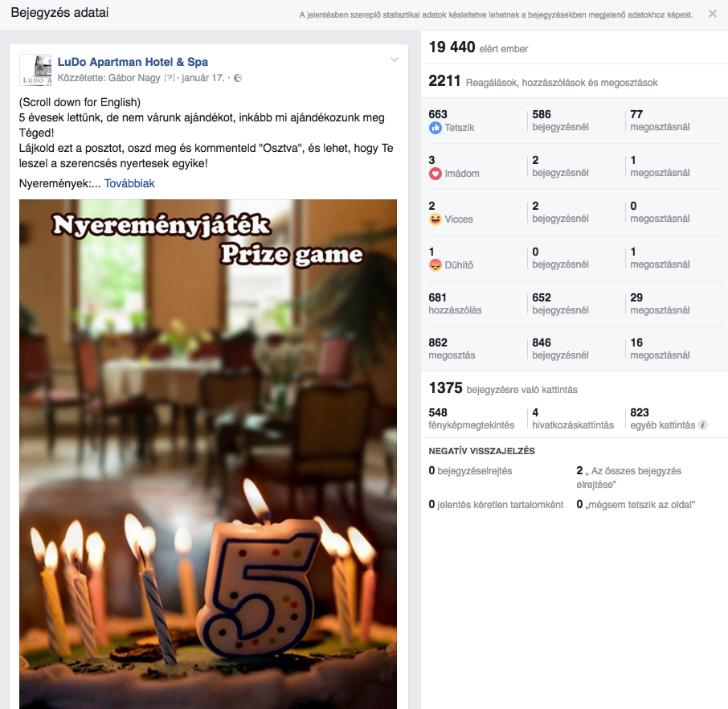 A Facebook nyereményjáték jó, de csak ésszel