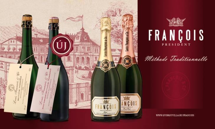 Louis François: A pezsgők divatja még csak most köszönt be igazán