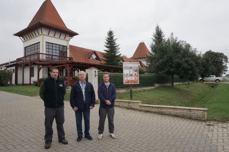 Dél-balatoni pezsgőkkel bevenni Európát: Garamvári
