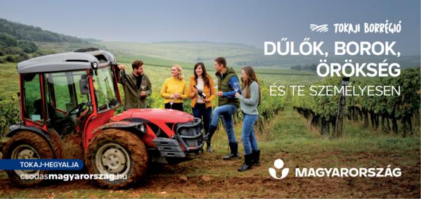 A borturizmusé a főszerep az MTÜ őszi kampányában